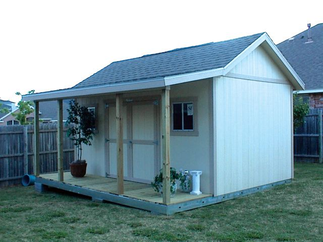 Shed Style Farm Stand
