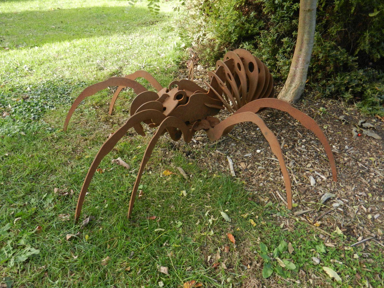 Giant 3D Spider Over 3ft / 3D Metal Spider / Spider gift / Garden ...