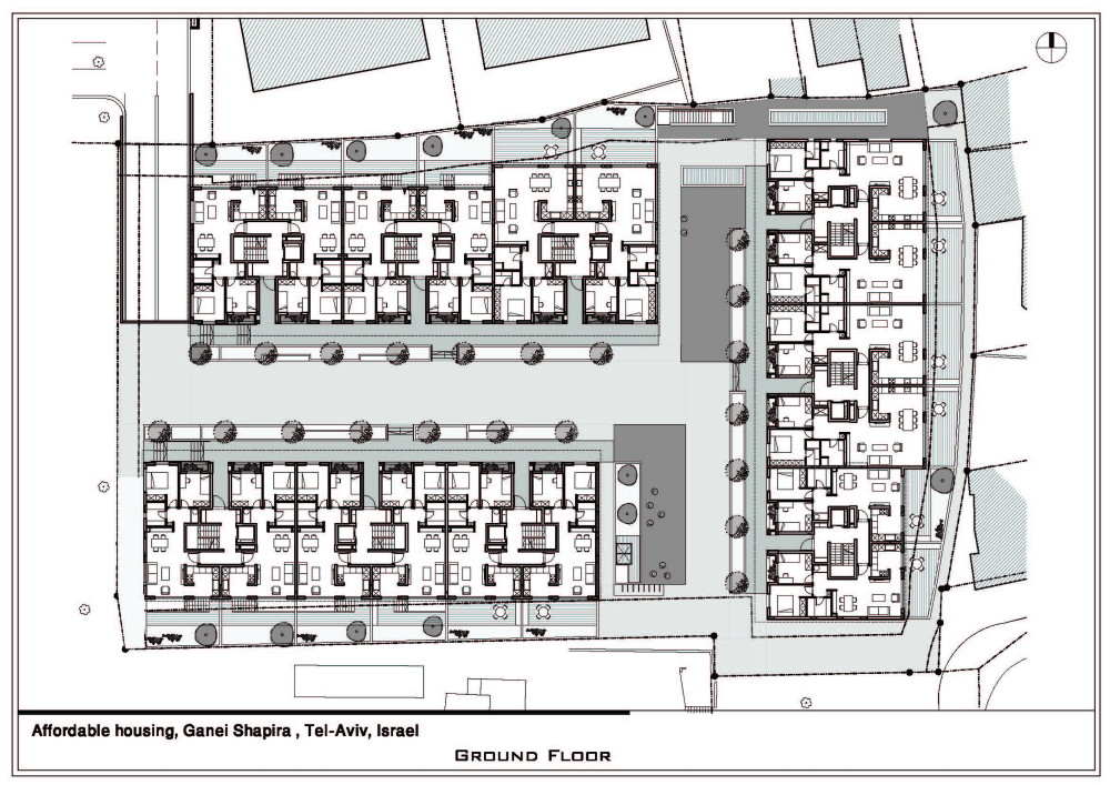 Gallery Of Ganei Shapira Affordable Housing Orit Muhlbauer Eyal Architects 13 Affordable Housing Architect Floor Plans