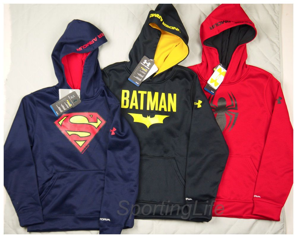 under armour spiderman hoodie