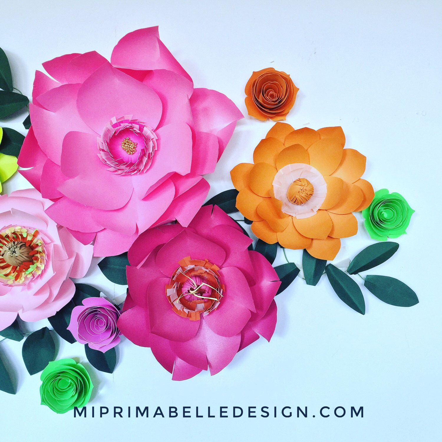 Paper Flowers For Home Or Event Backdrop Decor A Personal