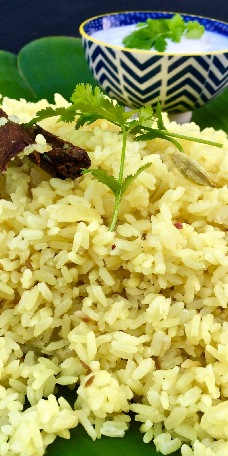 Perfectly Flavoured Indian Rice Delicious As A Side Or Enjoyed With Butter Chicken