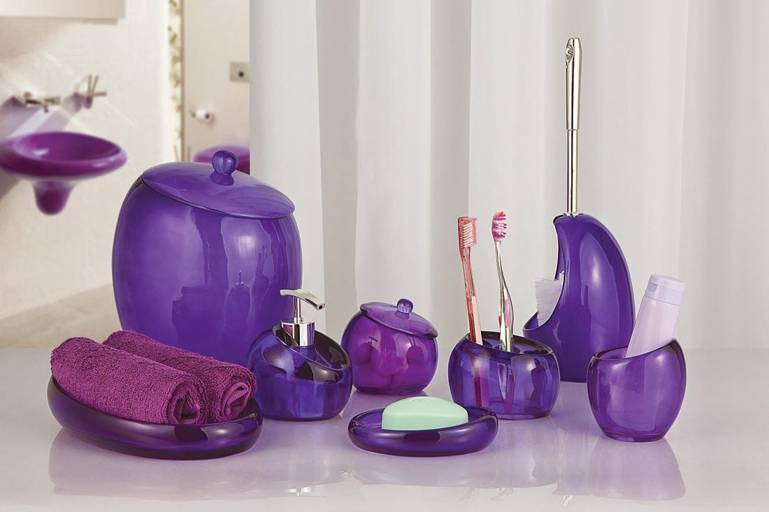purple glass bathroom accessories. Bathroom Accessory Sets Purple  Have You Been Trying To Find Uncomplicated Toilet Thoughts That Will Create A Huge Differenc 25 Examples Of Beautiful Accessories Accessories