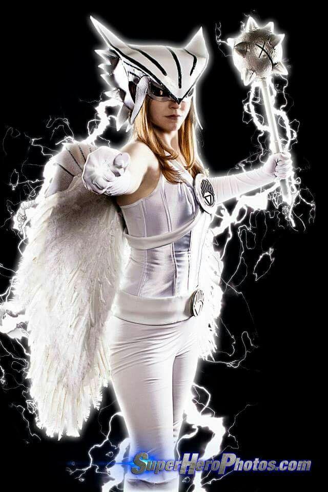 White Lantern Hawkgirl cosplay | Cosplay, Hawkgirl, White ...