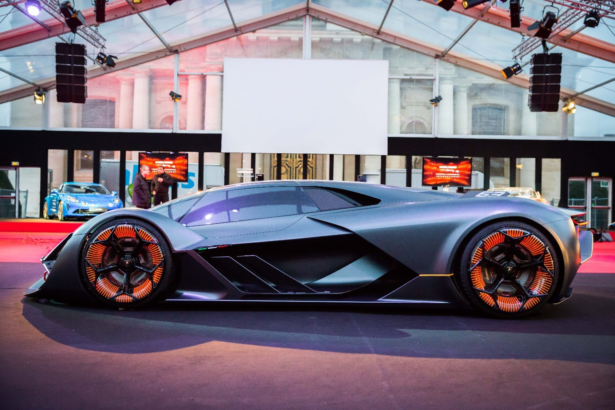 One Of The Finalists Of The Most Beautiful Concept Car Of 2017 The Lamborghini Terzo Mellennio Lamborghini Automobile Super Cars
