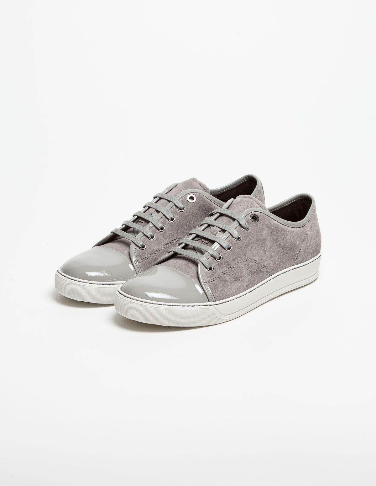 Lanvin Cap Toe Sneaker Grey | Lanvin
