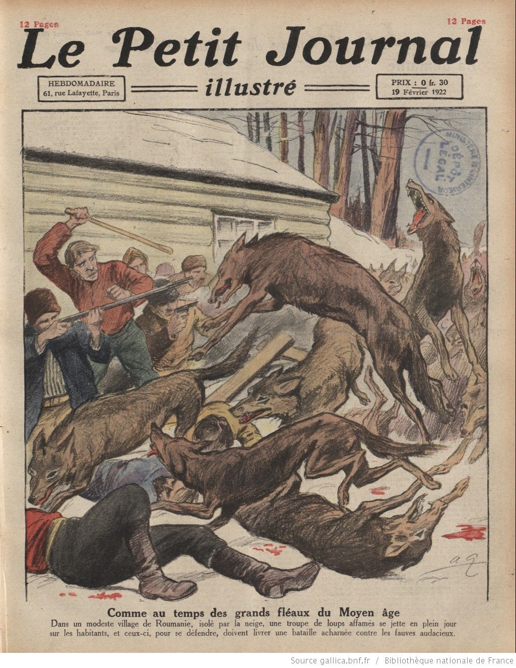 Le Petit journal illustré, 19/02/1922