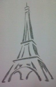 Learn how to draw the eiffel tower draw pinterest drawing learn how to draw the eiffel tower thecheapjerseys Gallery