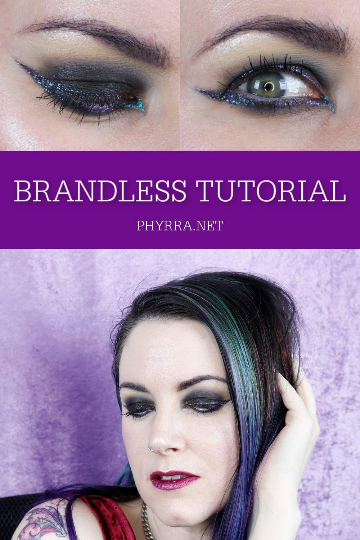Brandless Makeup Tutorial Hooded eyes, Winged liner