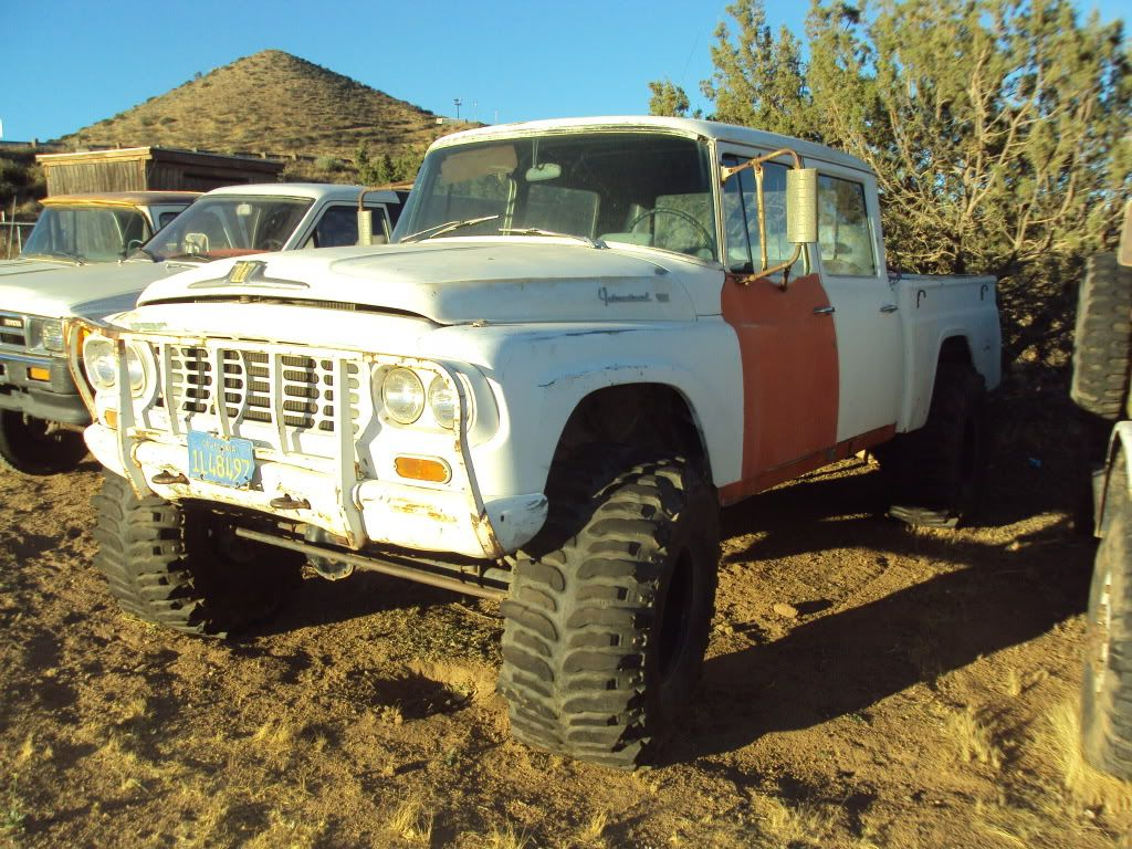 International crew cab travellette 1961 international 4x4 crewcab
