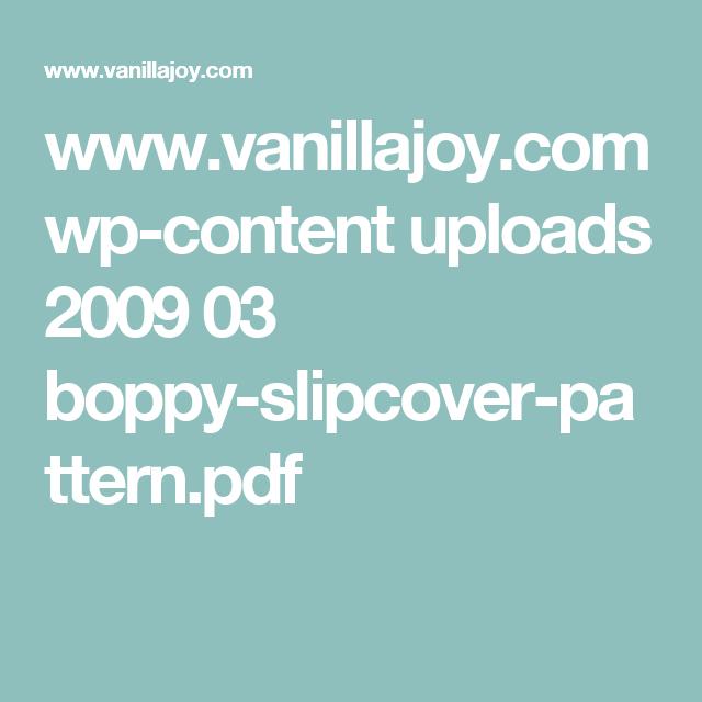 www.vanillajoy.com wp-content uploads 2009 03 boppy-slipcover-pattern.pdf