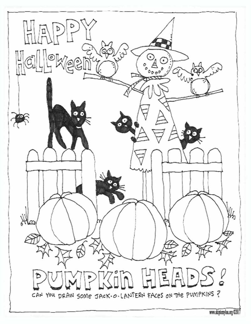 Cute Halloween Coloring Pages To Print And Color Malvorlagen Halloween Halloween Handwerk Halloween Projekte