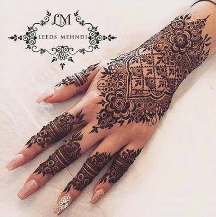 55 New Ideas Bridal Mehndi Designs Indian Weddings Henna Art