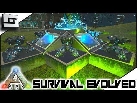 nice ARK Survival Evolved - TEK TURRET BASE DEFENSE! S2E9 ( Modded - new blueprint ark survival