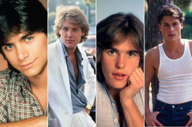 Eighties Rocked On Twitter Heartthrob Feathered Hairstyles Movie Stars