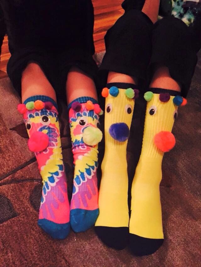 Crazy sock day .....for school #crazysockdayideas Crazy sock day .....for school #crazyhatdayideas