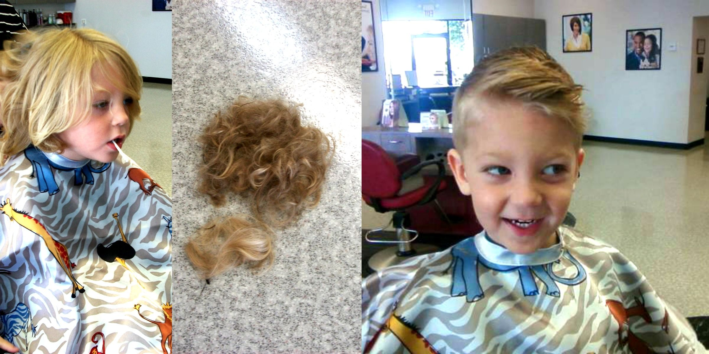 Toddler Boy Haircut Before And After Boys Haircuts Little Boy Haircut Levi Haircut