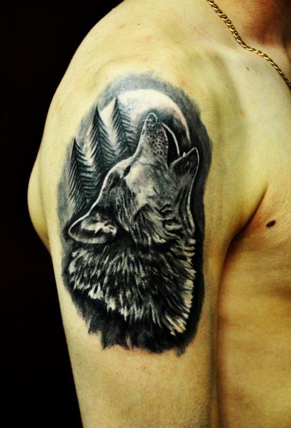 Картинки по запросу тату на запястье волк   Татуированные ...