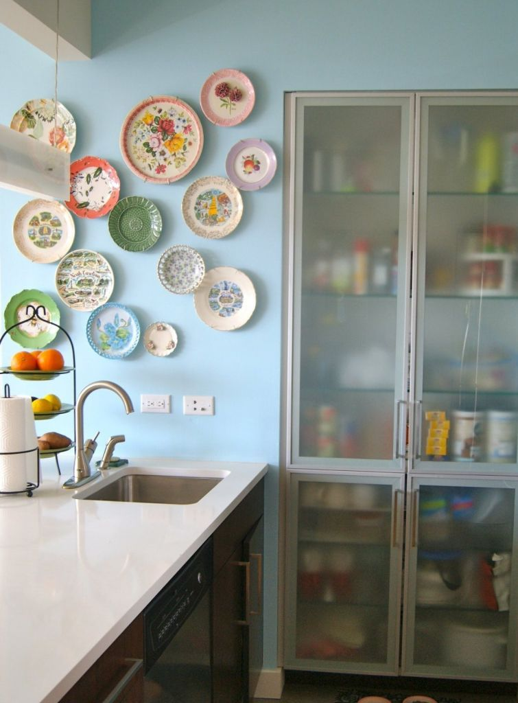 24 Inspirational Ideas With Plates On Wall Kitchen Wall Decor