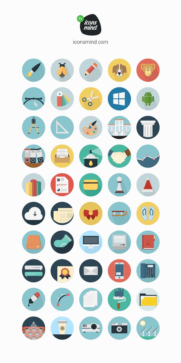 Iconsmind 50 Icons Flat icon, Free icons, Free icon set