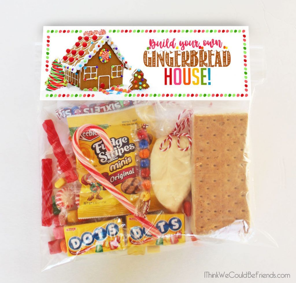 DIY Complete Gingerbread House Kit in a Bag! FREE