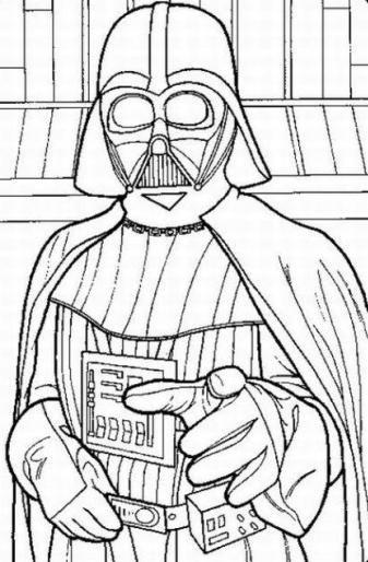 Darth Vader para colorear | Proyectos que intentar | Pinterest ...