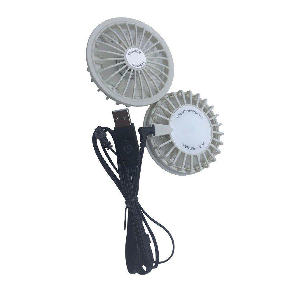 5v Brushless Motor High Speed Usb Cooling Fan Fishing Clothing