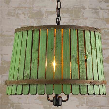 Reclaimed Bushel Basket Into Pendant Lamp Lamps & Lights