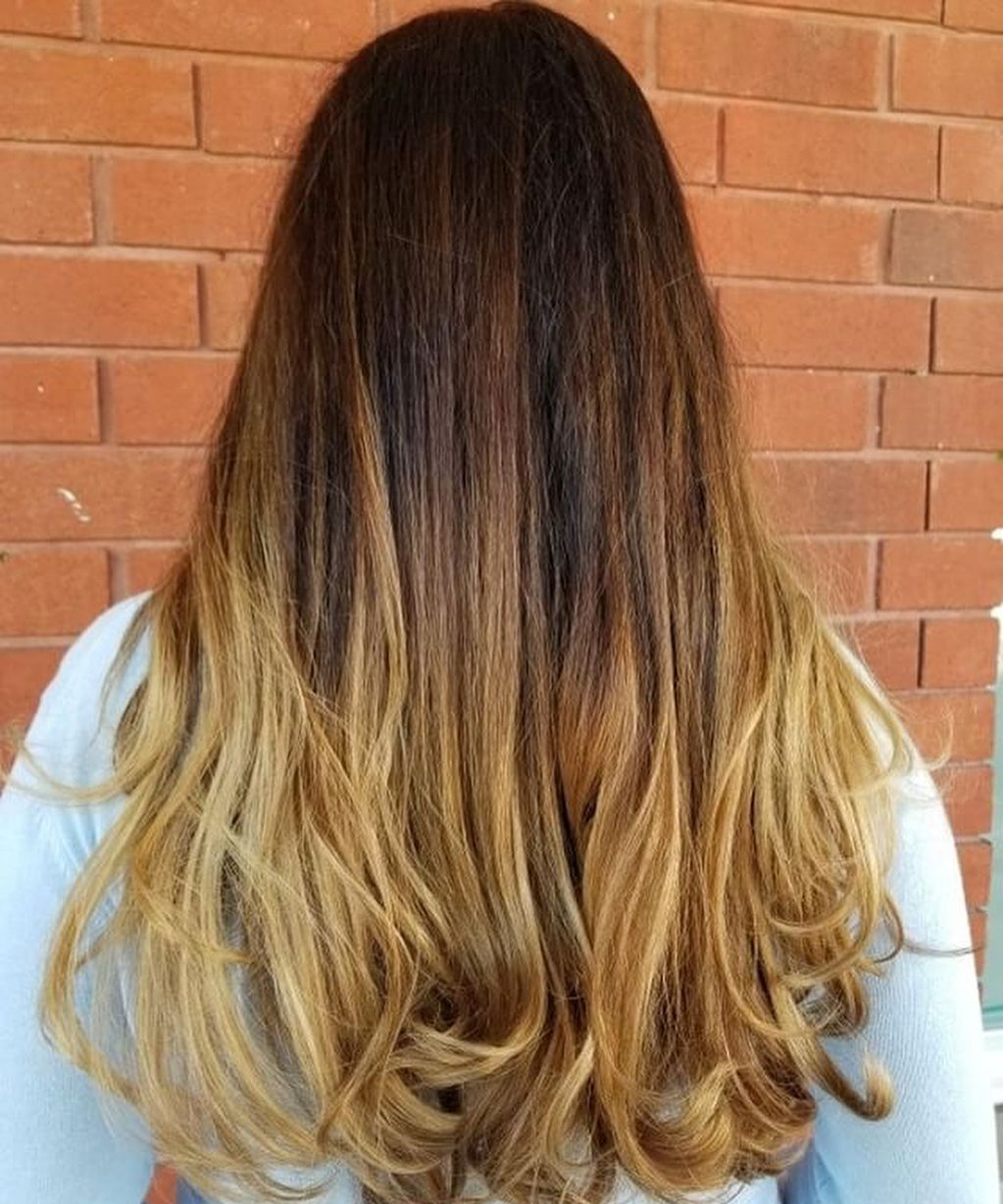 A beautiful rich balyage by Chiara warmhair 🍂🍁 fallhair