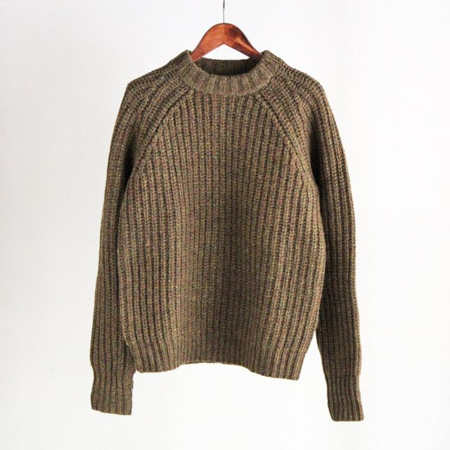 LVC (LEVI'S VINTAGE CLOTHING) - RIBBED FISHERMAN SWEATER ...