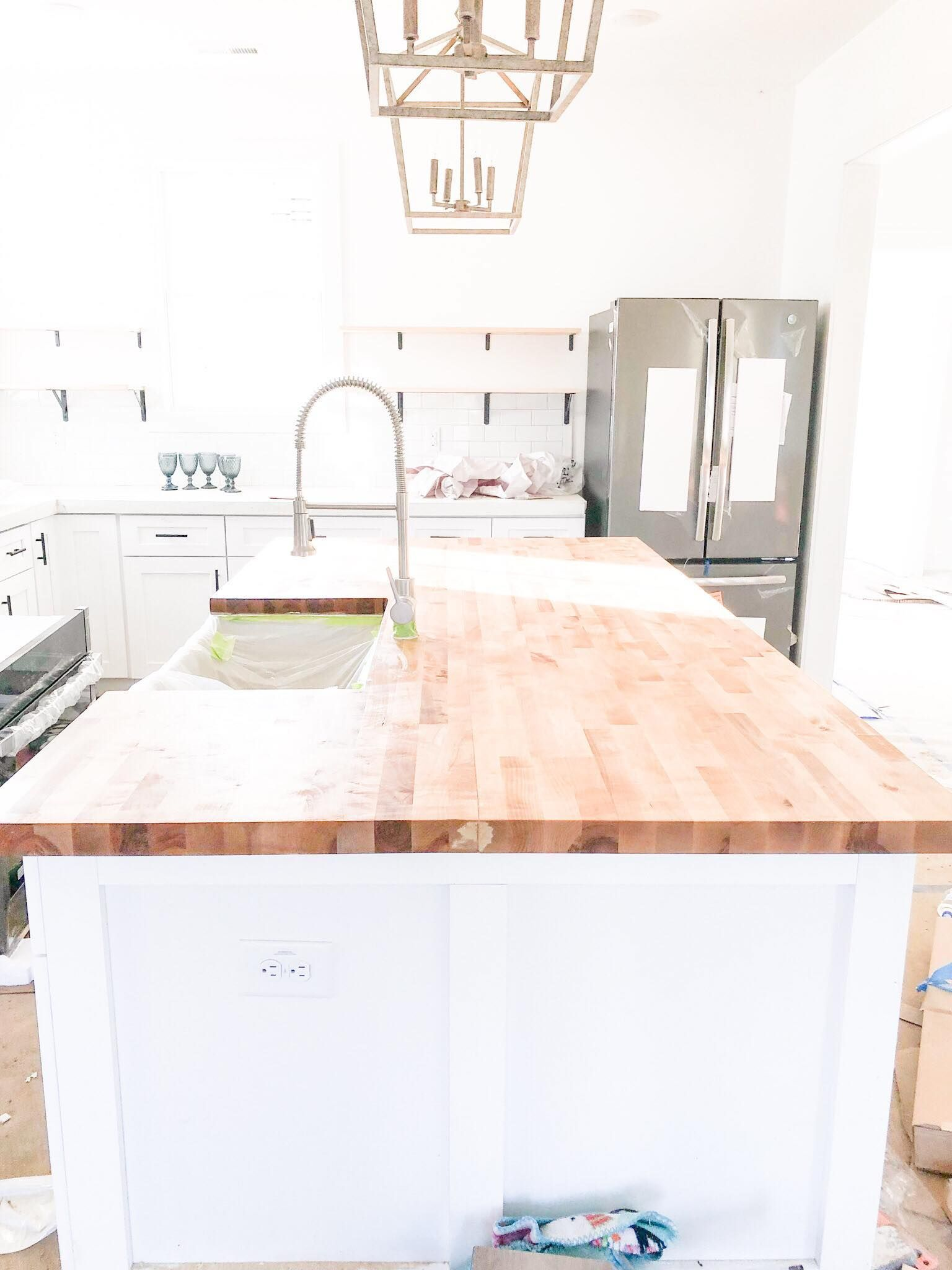 DIY Butcher Block for Under 500 Butcher Block counters on