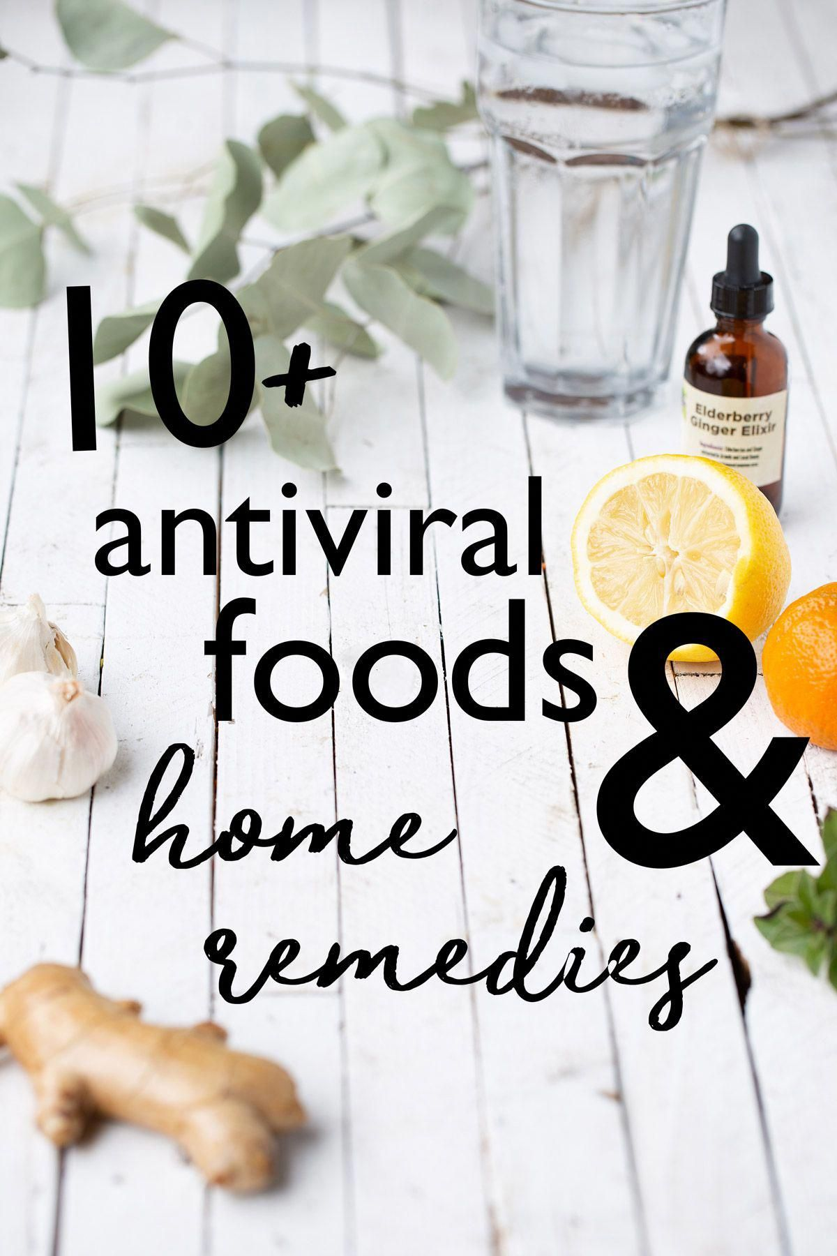 Antiviral foods and home remedies for lung health one