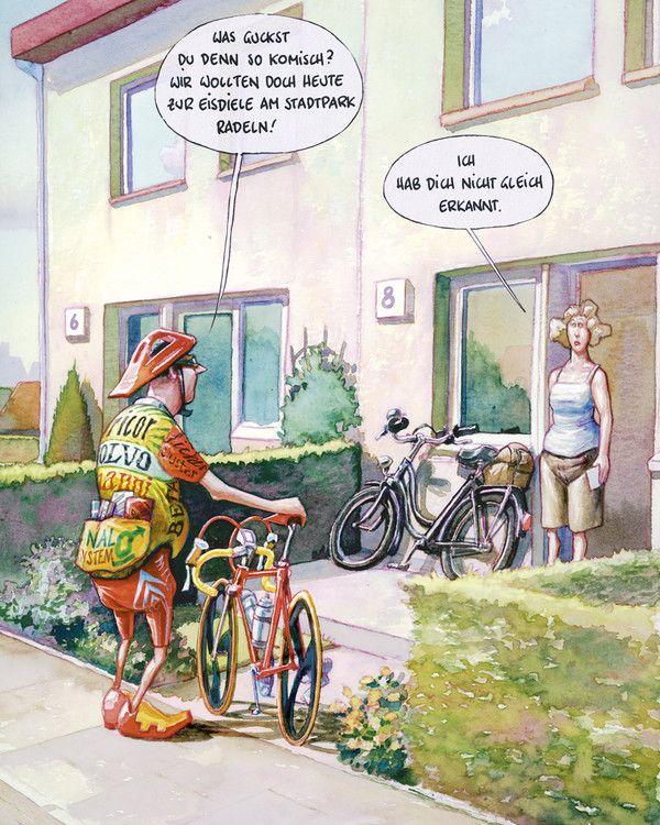 Fahrradfahren Das Macht Munter Reimix