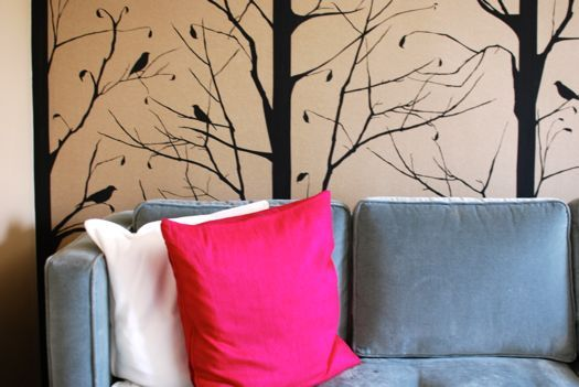 Merveilleux Birds In Home Decor @ Simple Design (the Hollywood Housewifeu0027s Office  Wallpaper Is One Of My Favorite Things On The Planet)
