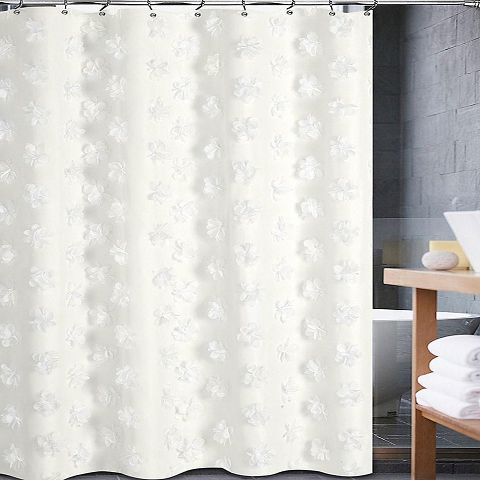 Tivoli Shower Curtain Ivory Curtains Cream Shower Curtains