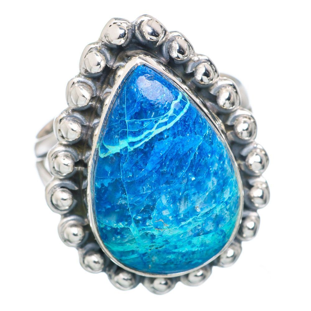 Shattuckite 925 Sterling Silver Ring Size 5.75 RING711701