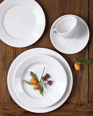 Apilco Tradition Porcelain Dinnerware Place Settings & Apilco Tradition Porcelain Dinnerware Place Settings | Porcelain ...