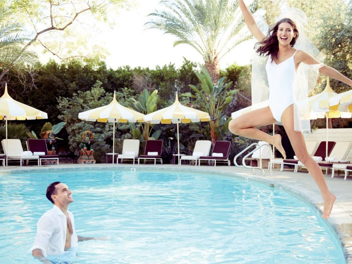 J.Crew's Summer Bride Loves Swimming Pools, Tennis Courts - Racked