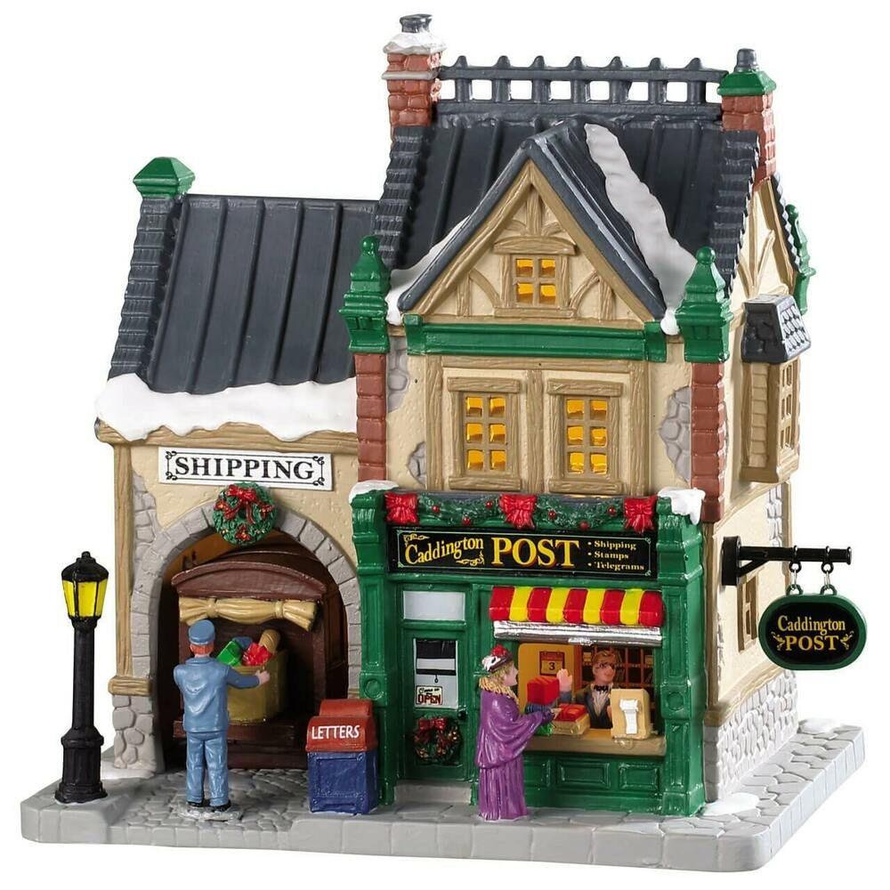 Lemax Christmas Village Caddington Post Office 85364