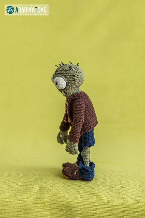 Crochet Pattern of Zombie from \