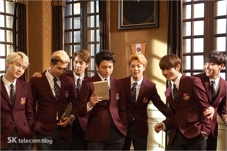 [Picture] Unreleased Photos of BTS for SKTelecom promotional ads [161228]