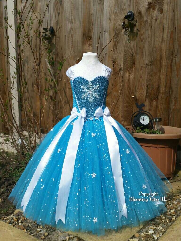 Ice Queen Super Sparkly Tutu Dress-Birthday, Party, Photo Prop ...