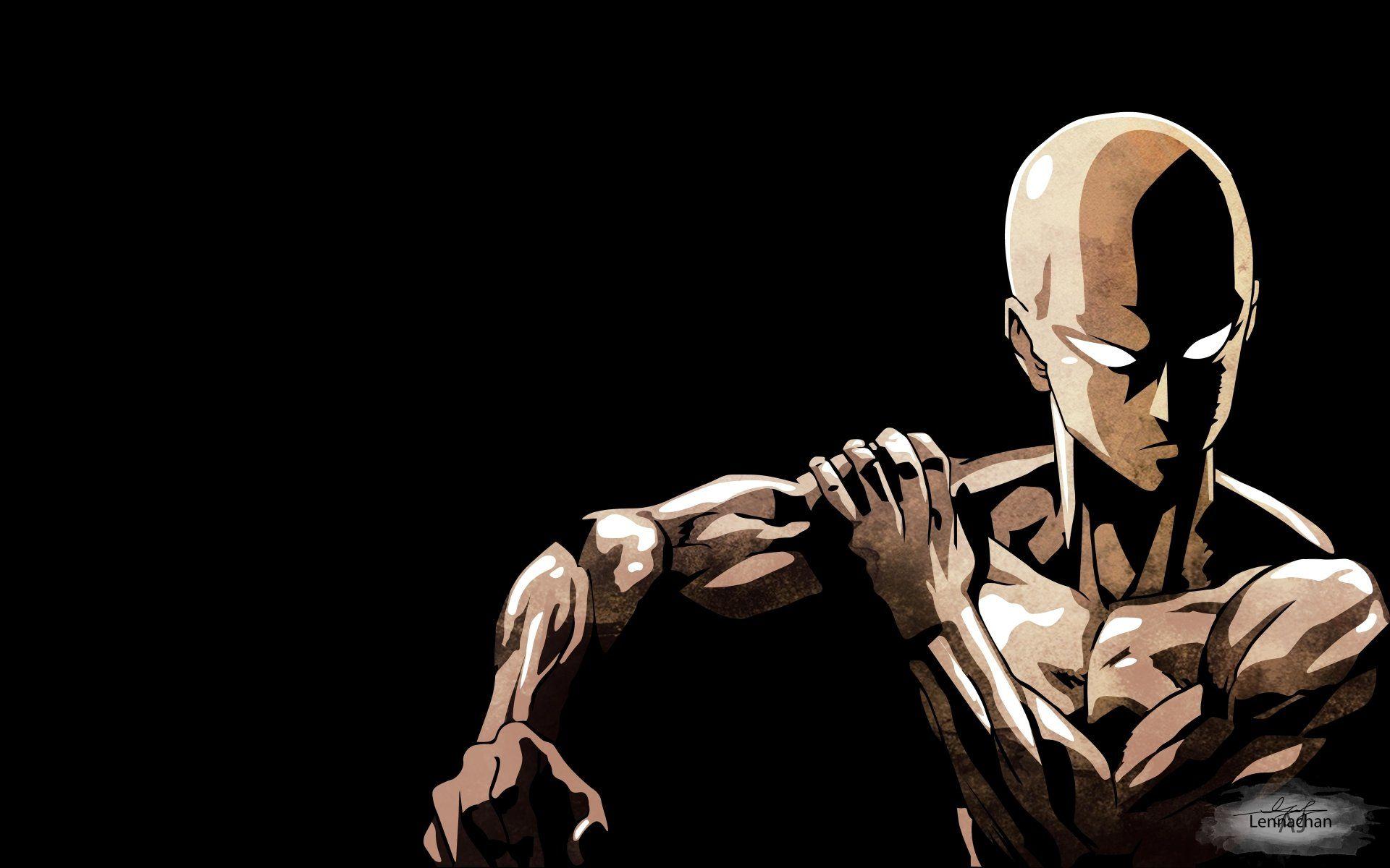 Anime One-Punch Man Saitama (One-Punch Man) Wallpaper ...