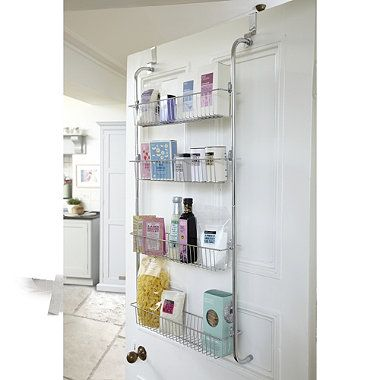 4 Tier Over Door Storage Rack For All Those Small Things In The Craft Area