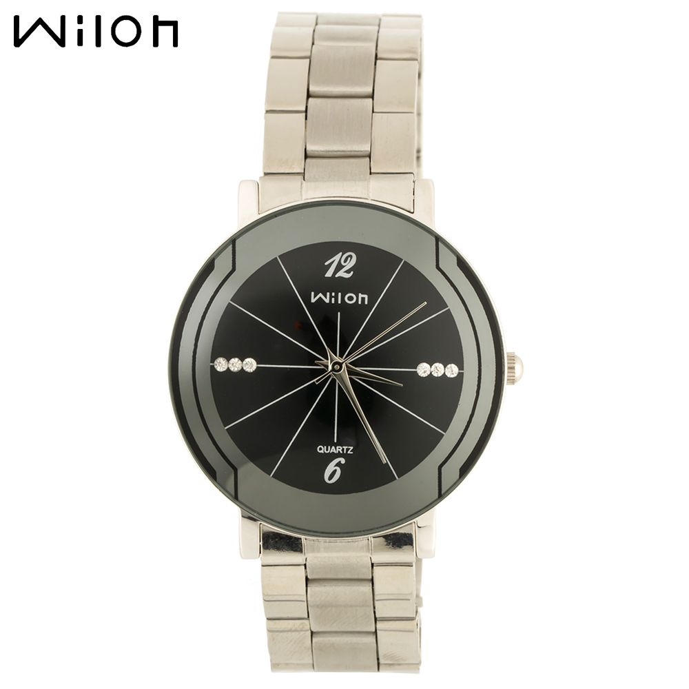 casual s fashion with blue watch men date leather business watches