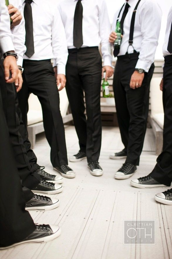 wedding attire, Casual groomsmen