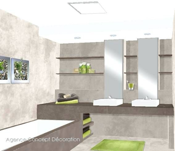 plan salle de bain 7m2 implantation salle de bain on decoration d