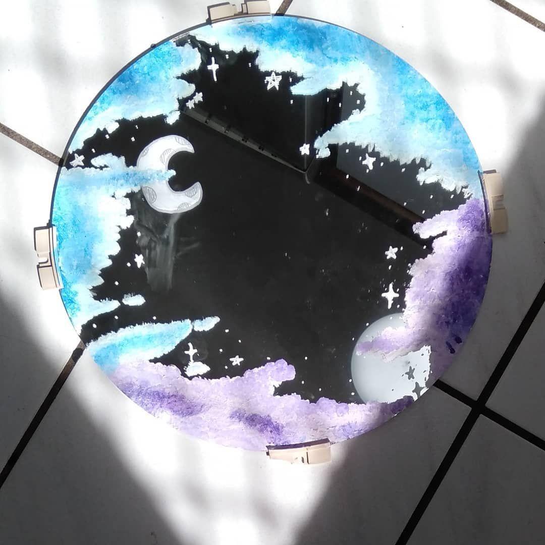Notitle Notitle Spiegel Dance Humor Dance Music Tick Tock Videos Dances Tik Mirror Painting Painted Mirror Art Clouds On Mirror Painting