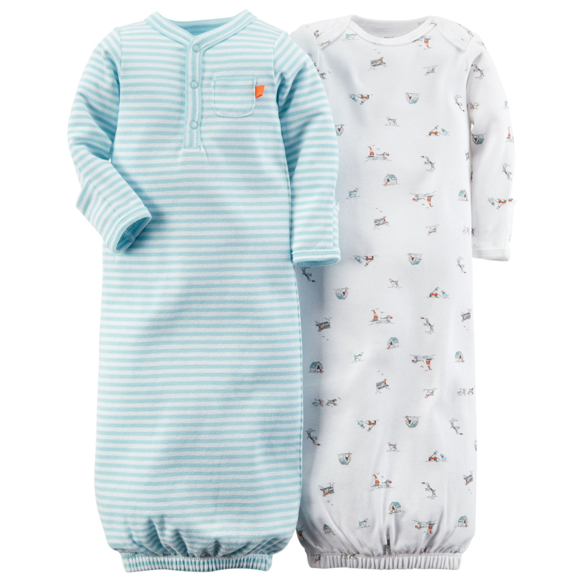 Baby Boy 2-Pack Sleeper Gowns | Carters.com | Future babyboy ...