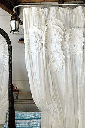 To Da Loos Gorgeous Feminine Shower Curtains Shabby Chic Shower